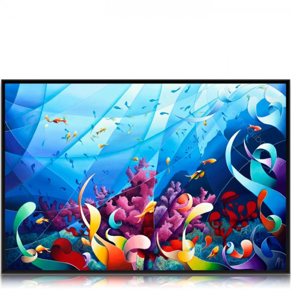 Colorful Painting Ocean