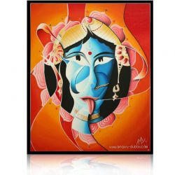 Colorful Painting  Kali