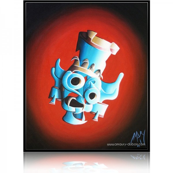 Colorful Painting  Tlaloc