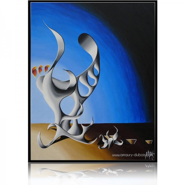 Abstract Painting Totem 5