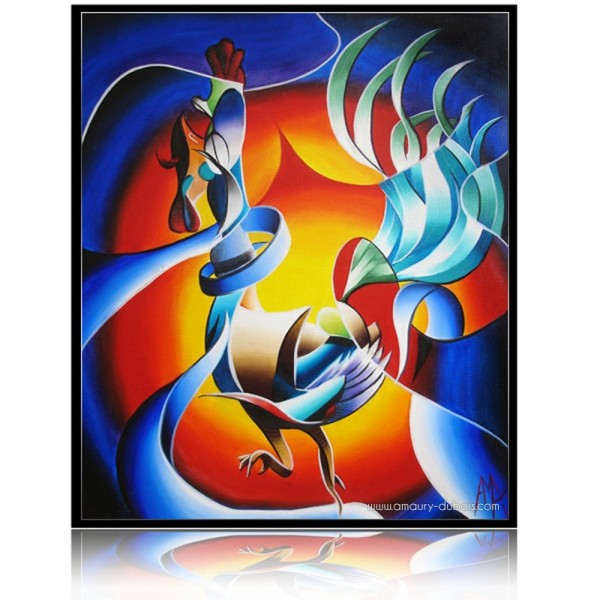 Colorful Painting It s six o coq