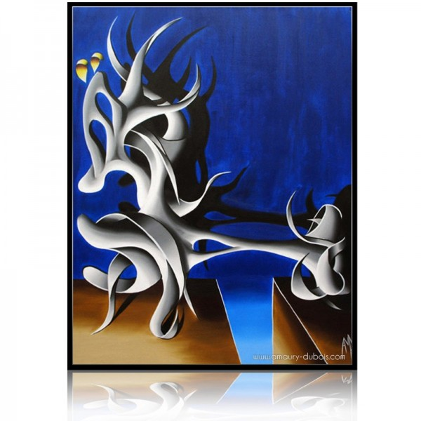 Abstract Painting Totem 3
