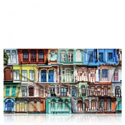 "Photographie d'art ""Colored Windows"""