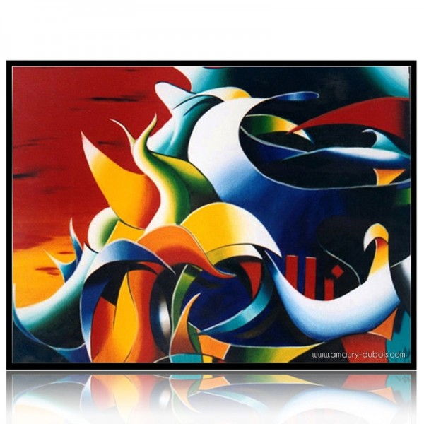 Abstract Painting 11 septembre