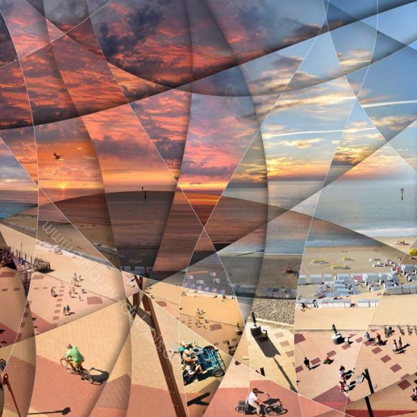 """Photographie d'art - """"A day in a life"""" Knokke"""