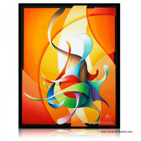 """Abstract Painting """"Smell like painter spirit"""""""