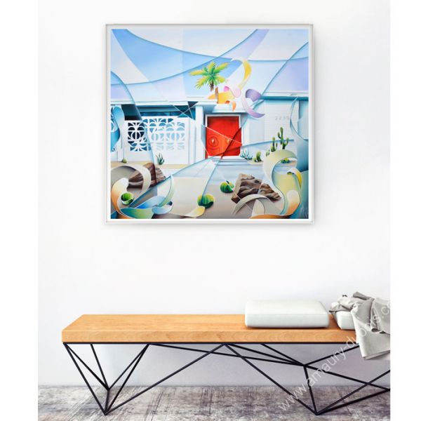 Modern painting Palm Springs Mid Century House
