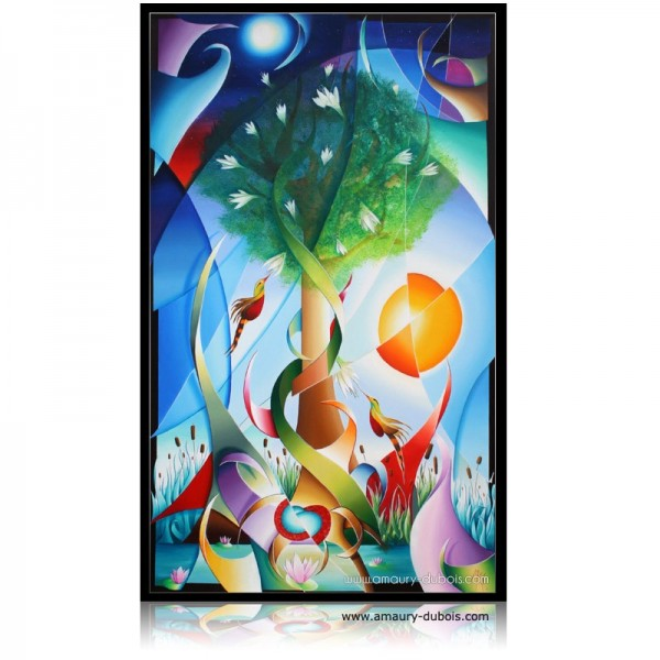 Colorful Painting Tree of Life