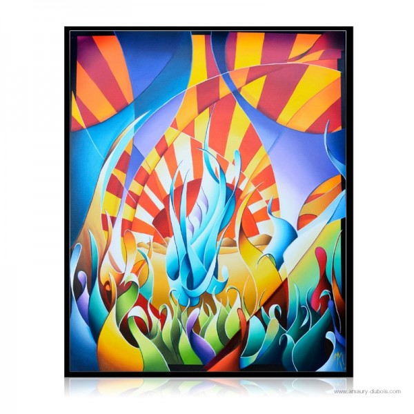 Colorful Painting  A l'aube II