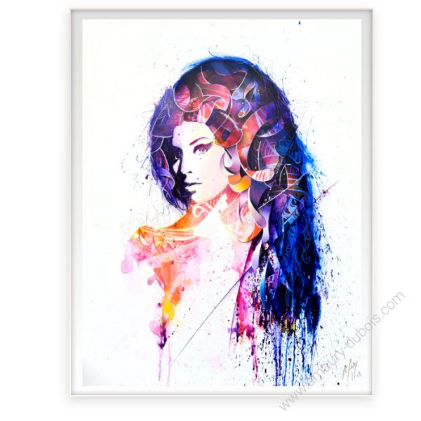 Icon Painting Amy Winehouse