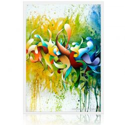 "Painting ""Butterfly"" dripping, abstract oil on canvas painting"