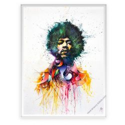 Icon Painting Jimi Hendrix