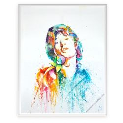 Icon Painting Mick Jagger