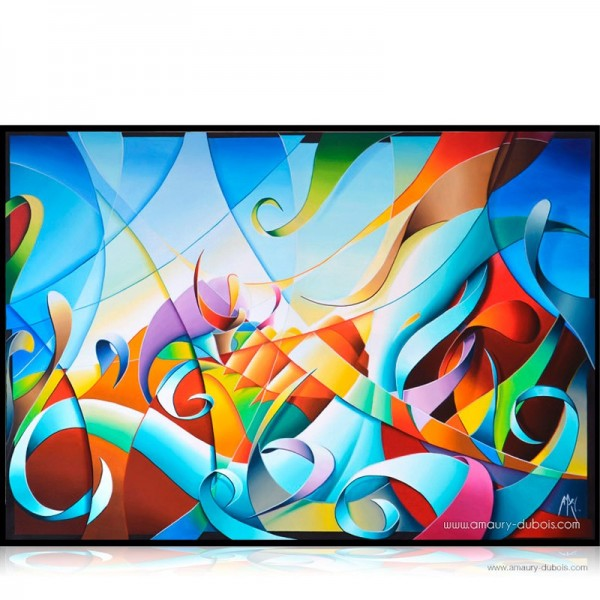 Abstract Painting River of dream II