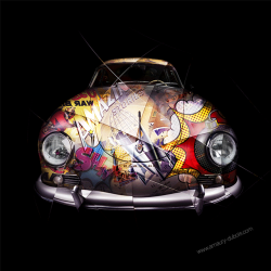 Art photography Pop Art Porsche 356
