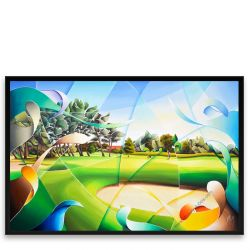 Golf Painting