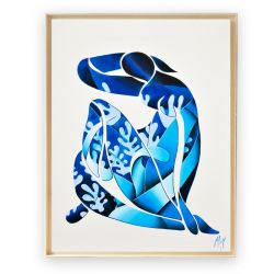Artwork Matisse Nu Bleu I