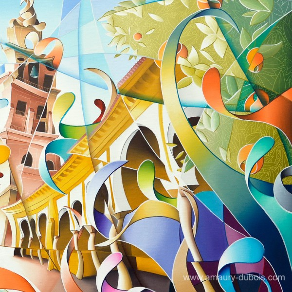 "Colorful Painting ""Cordoba"""