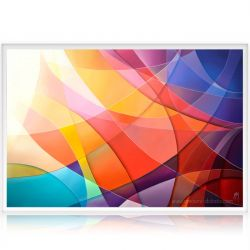 Contemporary abstract painting The Color & the Shape