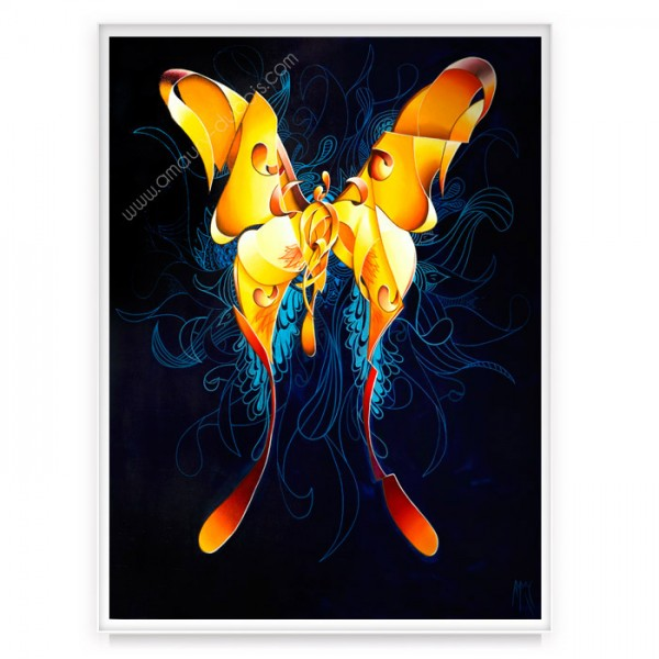 "contemporary Painting ""Butterfly Wings"