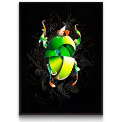Black Insect Painting 2