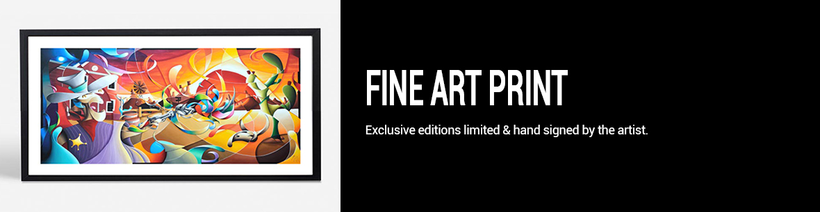 Fine art print signed and limited