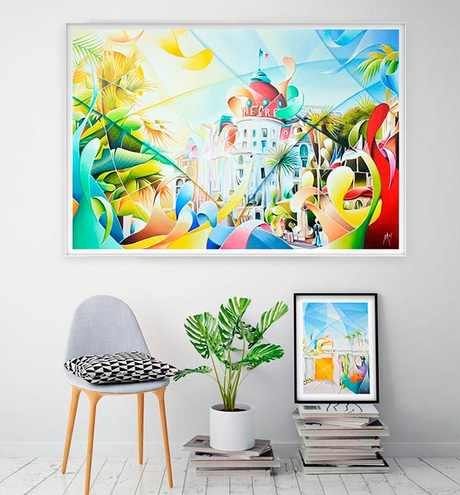 Figurative Colorful Painting