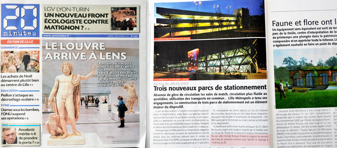 NORPAC // Parking aux abords du Grand Stade Lille