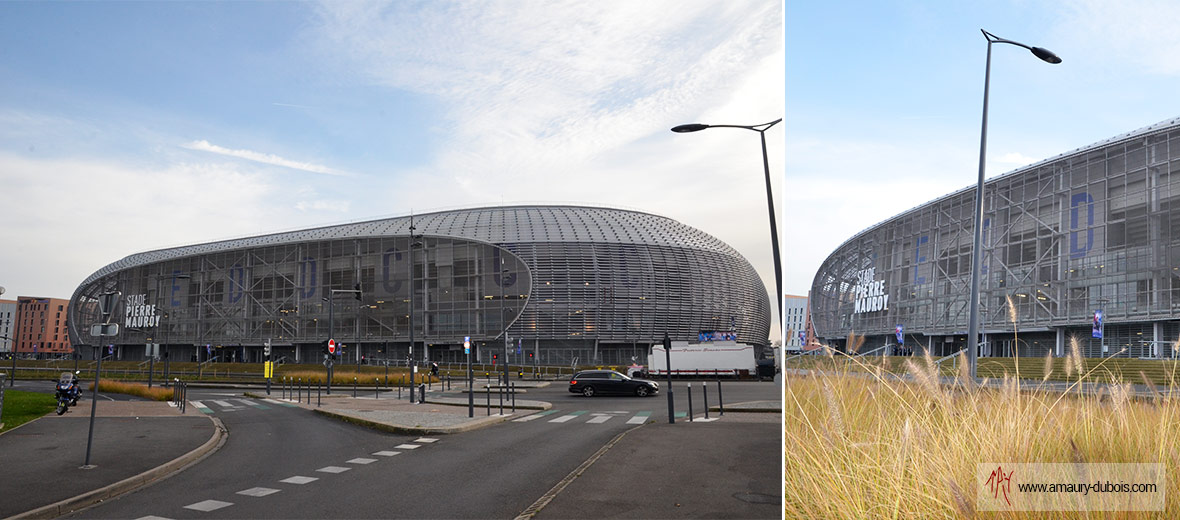 Amaury Dubois covers the Lobby of the Grand Stade in Lille...