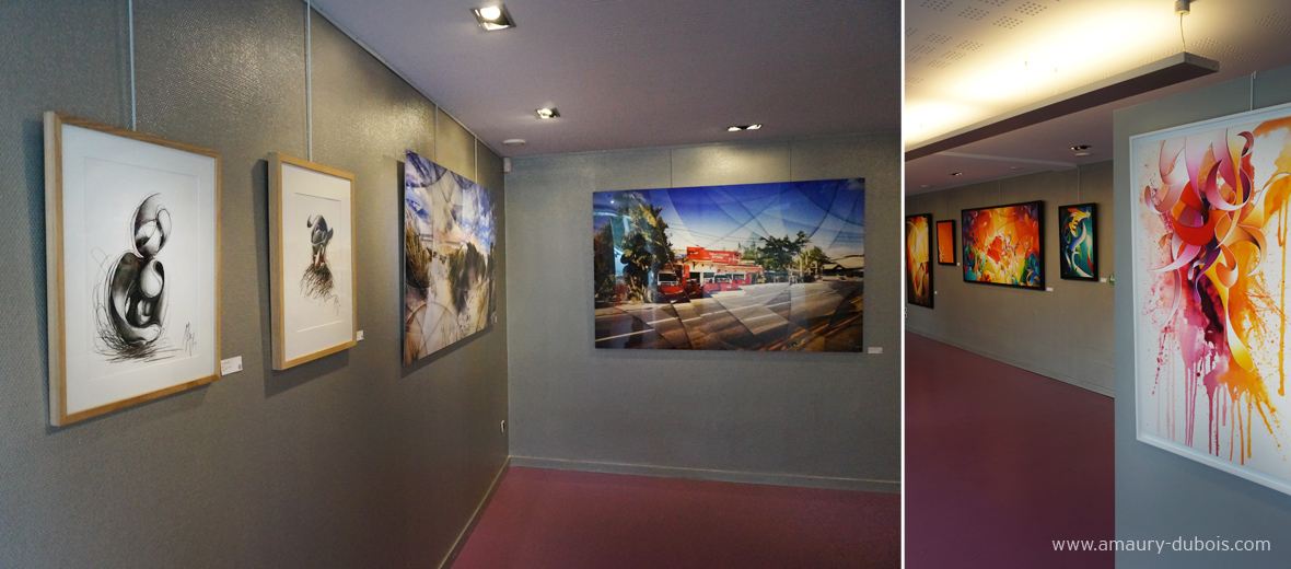 Amaury Dubois artist retrospective from 7 to 25 May 2014