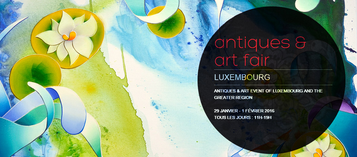 Event | Return in « Antiques & Art Fair » | Luxembourg