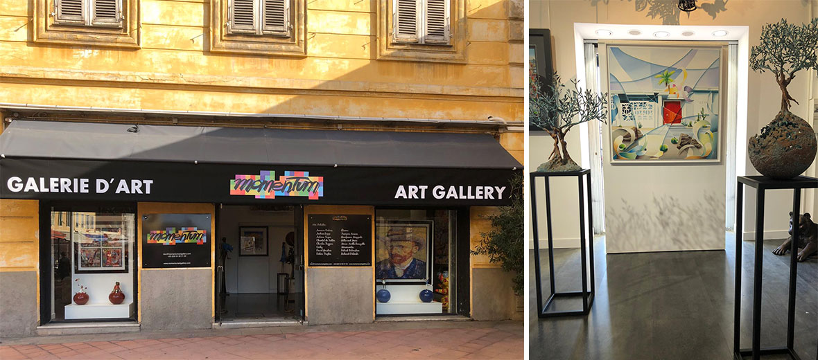 A new gallery in Nice!