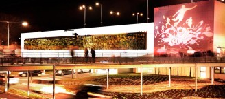 NORPAC // Projection lumineuse aux abords du Grand Stade Lille
