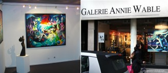 2011 France - Lille Solo exhibition art gallery Annie Wable