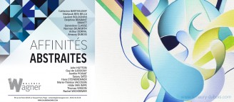 Group exhibition AFFINITÉS ABSTRAITES - Galerie WAGNER - LE TOUQUET - FRANCE