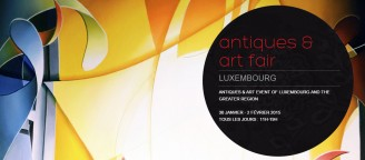 Antiques & Art Fair Luxembourg Artist Amaury Dubois will be on show