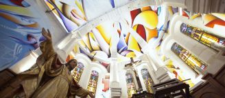 Amaury Dubois transforms the vault of a church !