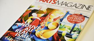 Amaury Dubois is on the cover of Arts Magazine!